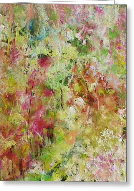 S-layer Greeting Cards - Meadows Greeting Card by Katie Black