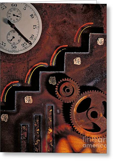 Industrial Concept Greeting Cards - Mechanical Technology, Conceptual Greeting Card by Paul Biddle