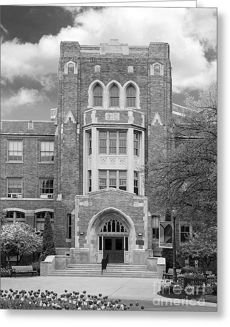 Buffalo Greeting Cards - Medaille College Main Building Greeting Card by University Icons