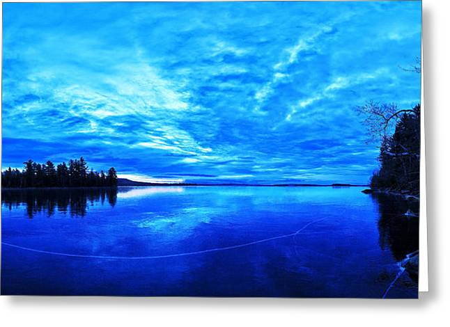 New England Winter Greeting Cards - Meddybemps Blues 1 Greeting Card by Bill Caldwell -        ABeautifulSky Photography