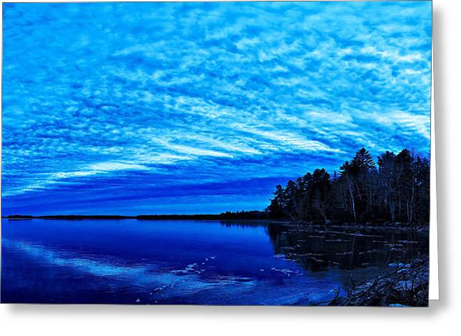 New England Winter Scene Greeting Cards - Meddybemps Blues 3 Greeting Card by Bill Caldwell -        ABeautifulSky Photography