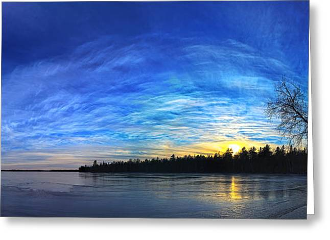 Snow Scene Landscape Greeting Cards - Meddybemps Cove 1 Panorama Greeting Card by Bill Caldwell -        ABeautifulSky Photography