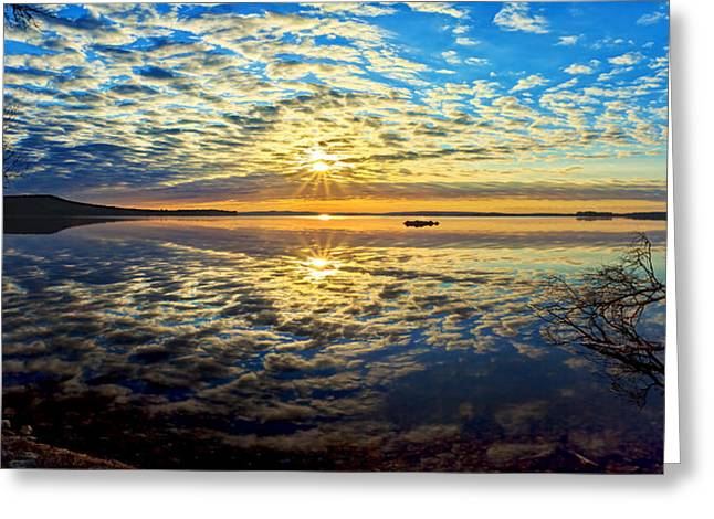 Beautiful Scenery Greeting Cards - Meddybemps Morning Panorama Greeting Card by Bill Caldwell -        ABeautifulSky Photography
