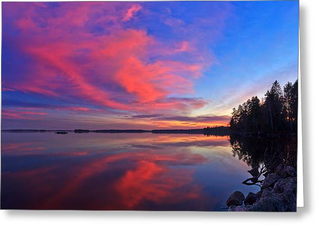 Beautiful Scenery Greeting Cards - Meddybemps Reflections 11 Greeting Card by Bill Caldwell -        ABeautifulSky Photography