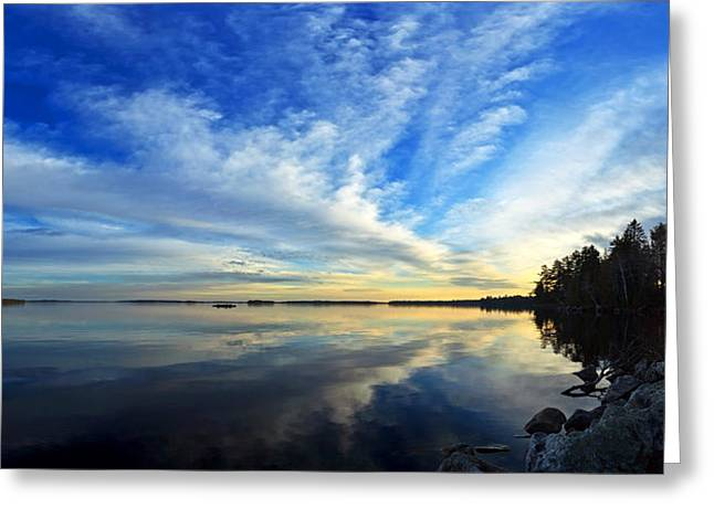 Modern Digital Art Digital Art Greeting Cards - Meddybemps Reflections 4 Greeting Card by Bill Caldwell -        ABeautifulSky Photography