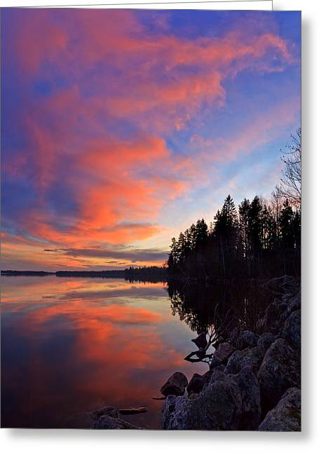 Beautiful Scenery Greeting Cards - Meddybemps Reflections 9 Greeting Card by Bill Caldwell -        ABeautifulSky Photography
