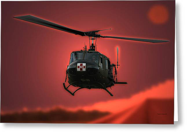 Thomas Woolworth Greeting Cards - Medevac the Sound of Hope Greeting Card by Thomas Woolworth