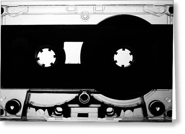 Walkman Greeting Cards - Media C60 Greeting Card by Keith Stansell