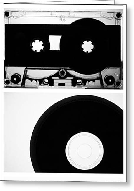 Walkman Greeting Cards - Media Vertical Greeting Card by Keith Stansell