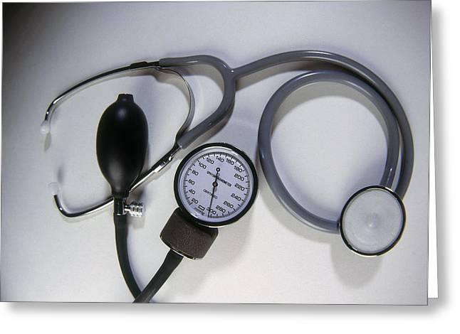 Medical Instruments Greeting Card by Dennis D Potokar