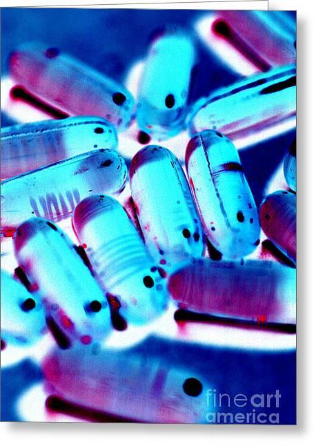 Medication Greeting Cards - Medication 14 Greeting Card by Micah May