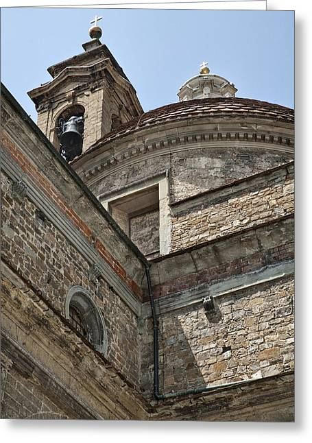 Masters Photographs Greeting Cards - Medici Chapel and Basicilica of San Lorenzo Greeting Card by Melany Sarafis