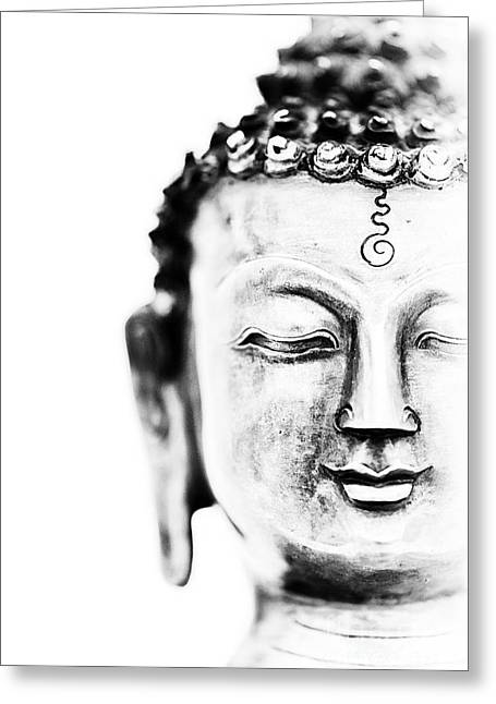 Meditate Greeting Cards - Medicine Buddha Greeting Card by Tim Gainey