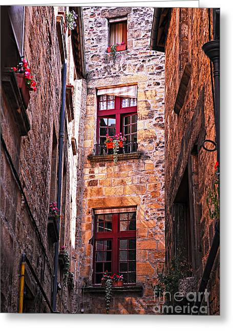 Old Stone Greeting Cards - Medieval architecture Greeting Card by Elena Elisseeva