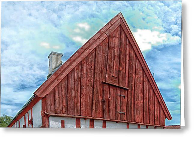 Medieval building Greeting Card by Antony McAulay