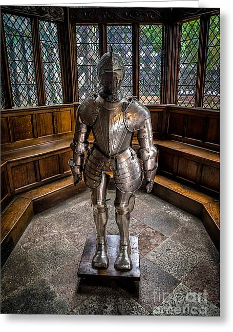 Knighted Digital Greeting Cards - Medieval Knight Greeting Card by Adrian Evans