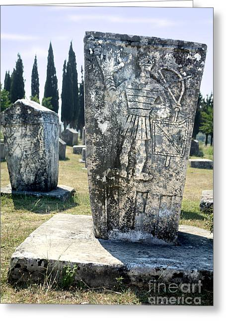 Medieval Necropolis  Greeting Card by Ladi  Kirn
