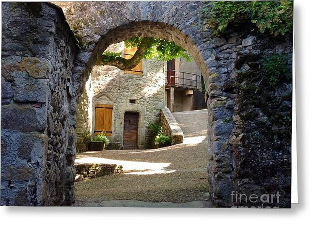 South Of France Greeting Cards - Entre Greeting Card by France  Art