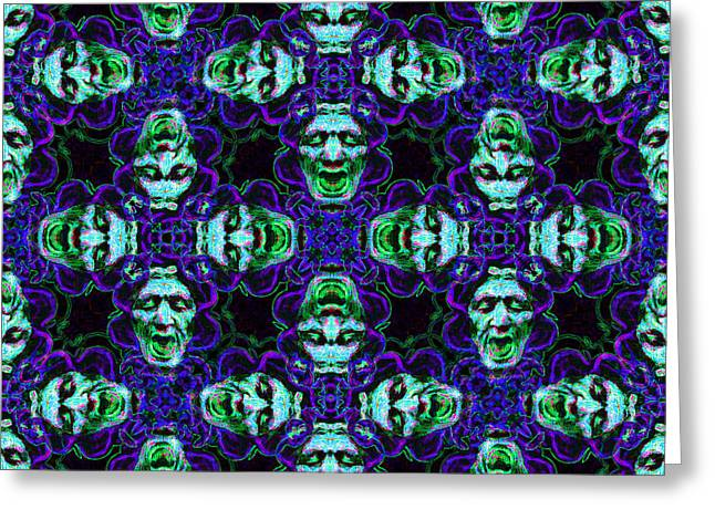 Medusa Digital Greeting Cards - Medusa Abstract 20130131p138 Greeting Card by Wingsdomain Art and Photography