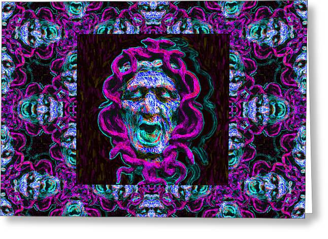 Medusa's Window 20130131m180 Greeting Card by Wingsdomain Art and Photography