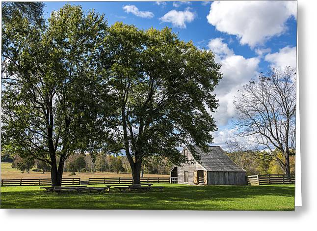 Civil War Site Greeting Cards - Meeks Stable Appomattox Court House National Historical Park Virginia Greeting Card by Terry DeLuco