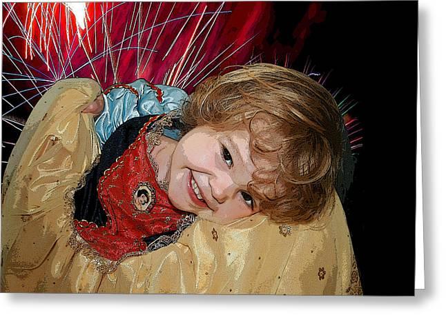 Meet Snow White Greeting Card by Ellen Henneke