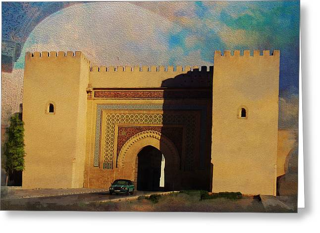 Essaouira Greeting Cards - Meknes Greeting Card by Catf