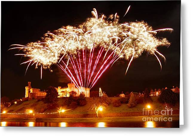 Celebration Art Print Digital Art Greeting Cards - Melange de soufre Greeting Card by John Kelly