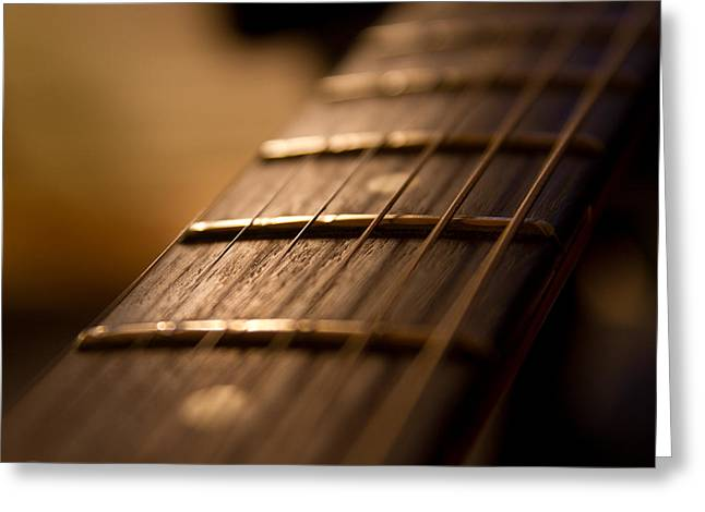 Fretboard Greeting Cards - Melody Greeting Card by Stylianos Kleanthous