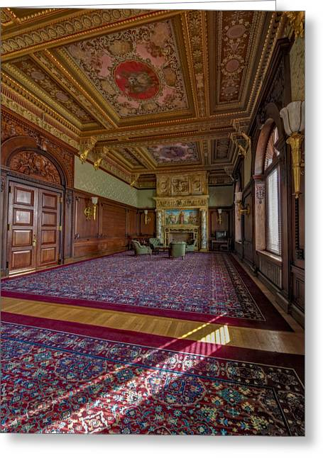 Development Greeting Cards - Members Room Library Of Congress II Greeting Card by Susan Candelario