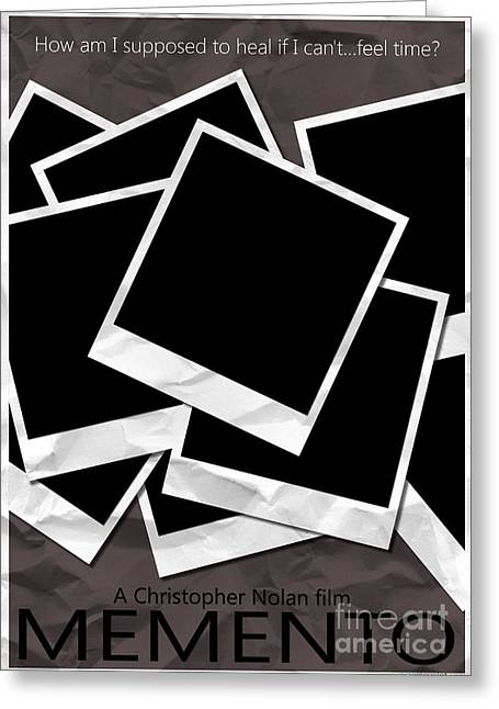 Christopher Nolan Greeting Cards - Memento Greeting Card by Graeme Voigt
