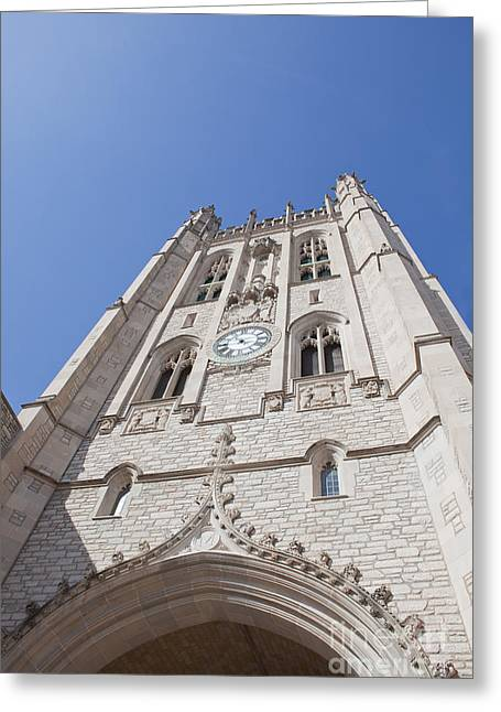 Kaypickens.com Photographs Greeting Cards - Memorial Union Clock Tower Greeting Card by Kay Pickens