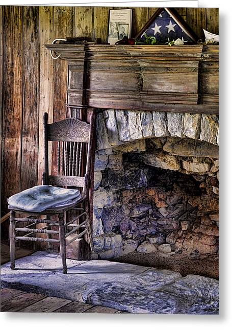 Empty Chairs Photographs Greeting Cards - Memories Greeting Card by Heather Applegate