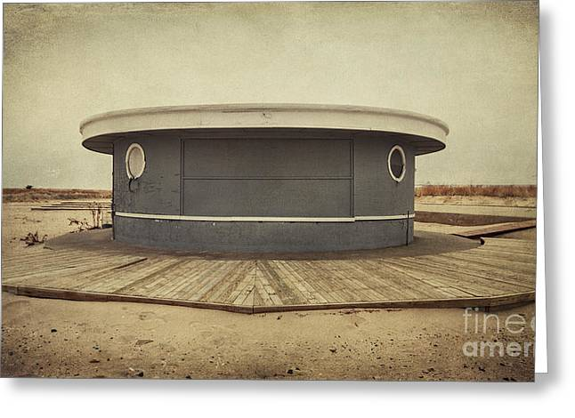 Jones Beach Greeting Cards - Memories In The Sand Greeting Card by Evelina Kremsdorf