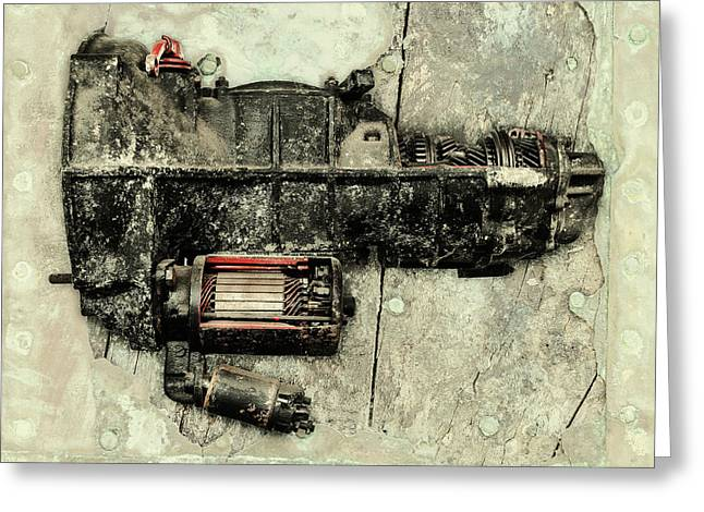 Rusted Cars Greeting Cards - Memories of a classic Car II Greeting Card by Martin Bergsma