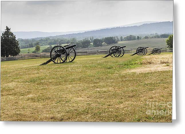 Civil War Battle Site Greeting Cards - Memories of Antietam Greeting Card by C2