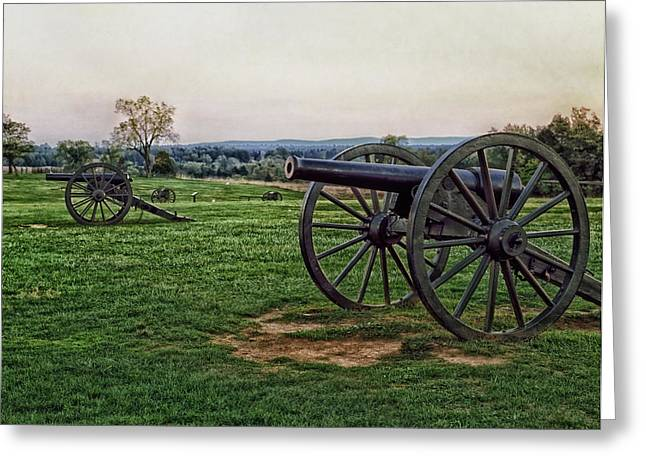 Yanks Greeting Cards - Memories of Manassas Greeting Card by Mountain Dreams