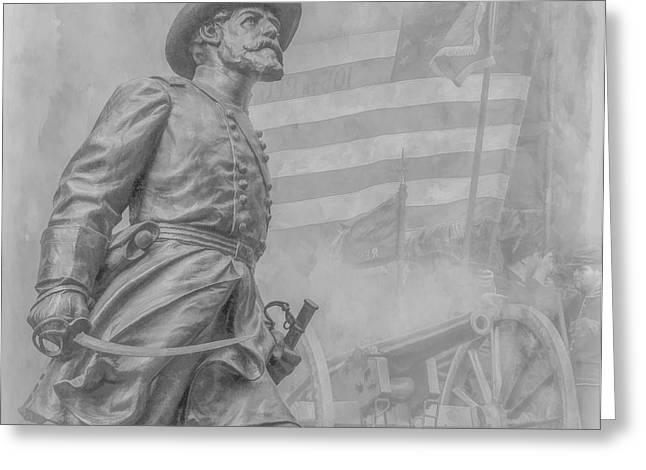 Memories of the Gettysburg Battle Greeting Card by Randy Steele