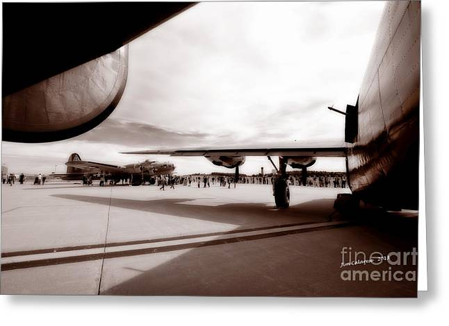 Brown Tones Greeting Cards - Memories Of The Greatest Generation Greeting Card by Jim  Calarese