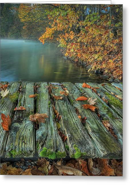 Memories Of The Lake Greeting Card by Jaki Miller