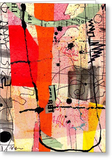 Richard Allen Greeting Cards - Memory Marks Greeting Card by Richard Allen