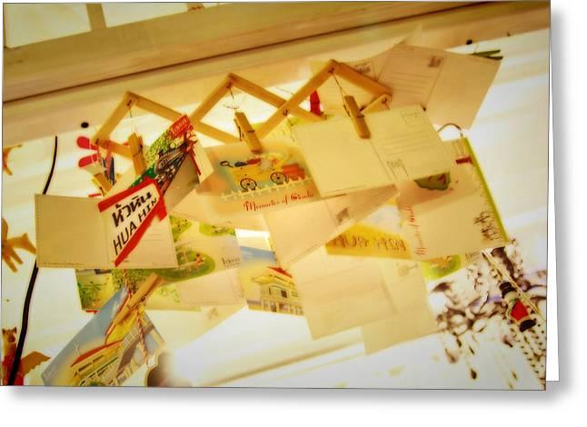 Memory of Cicada Greeting Card by Suradej Chuephanich
