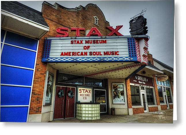 African American History Greeting Cards - Memphis - Stax Records 001 Greeting Card by Lance Vaughn