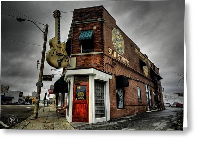 Memphis - Sun Studio 004 Greeting Card by Lance Vaughn