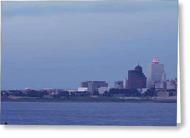 Tennessee River Greeting Cards - Memphis Tn Greeting Card by Panoramic Images