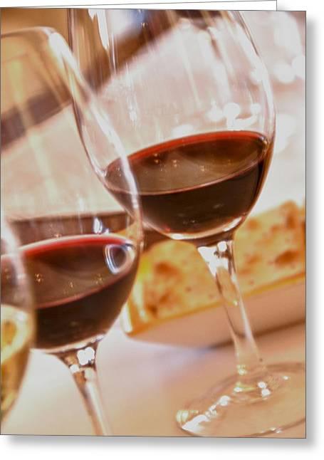 Malbec Photographs Greeting Cards - Mendoza Wine Tasting - Malbecs Greeting Card by Kevin Bain