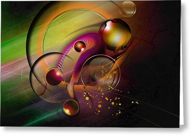 Universe Greeting Cards - Mene Teckel Greeting Card by Franziskus Pfleghart
