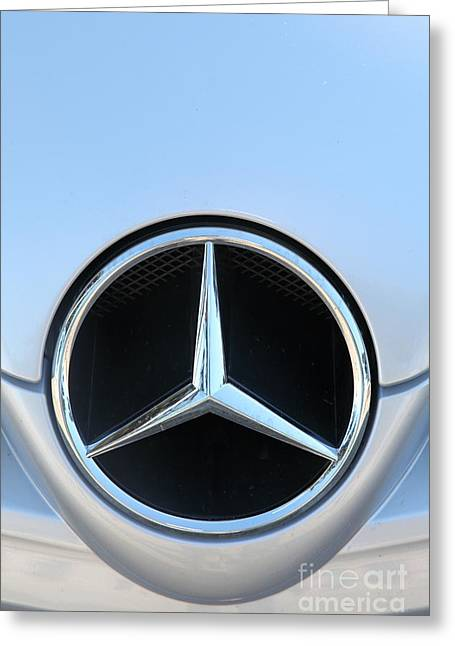 Import Car Greeting Cards - Mercedes - 5D20973 Greeting Card by Wingsdomain Art and Photography