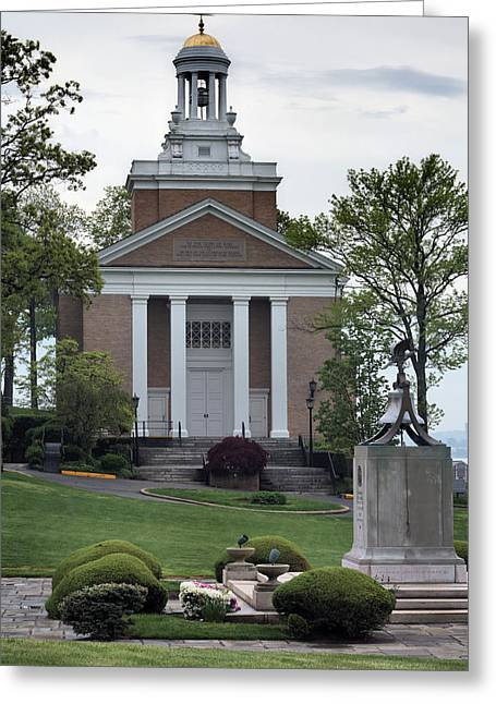 Merchant Greeting Cards - Merchant Marine Academy Chapel V Greeting Card by JC Findley