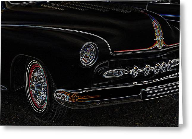 50 Merc Greeting Cards - Mercury Glow Greeting Card by Steve McKinzie